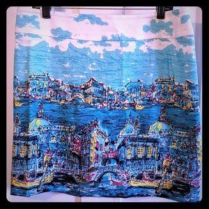*NWT* Beautiful patterned Talbots skirt, sz 12